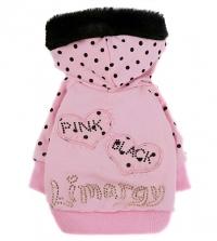"""Толстовка """"Pink-Black"""" розовая"""