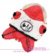 "Lim010501-2 Комбинезон ""Dogs"" розовый"