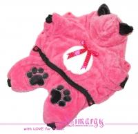 "Lim010532 Комбинезон ""Mouse-plush"" розовый"