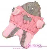 "Lim010516-2 Комбинезон ""Knitting"" розовый"