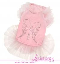 Платье 'Diam Angel' розовое