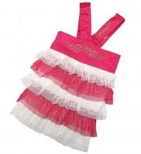 """Джинсовое платье """"Fly"""" розовое"""