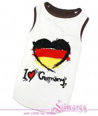 Маечка 'Germany' белая