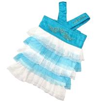 """Джинсовое платье """"Fly"""" голубое"""
