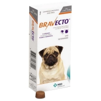Бравекто для собак весом 4,5-10 кг, таб. 250 мг