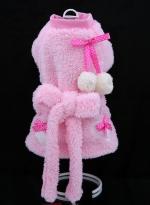 """Халат """"Пумпончики"""" розовый"""